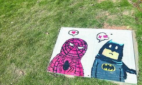蜘蛛侠和蝙蝠侠