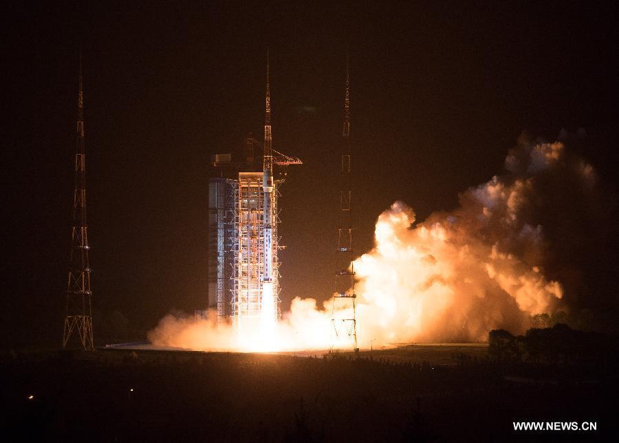 La Chine lance un satellite chargé de surveiller l