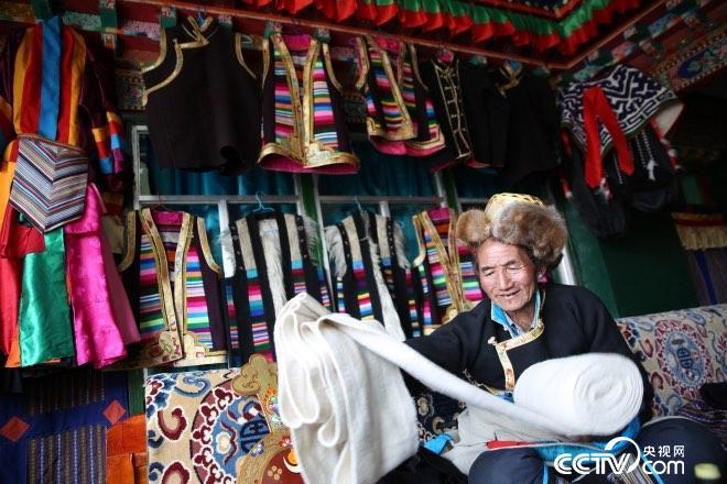 """""""游丝一线""""成为了藏民们的生活潮品"""