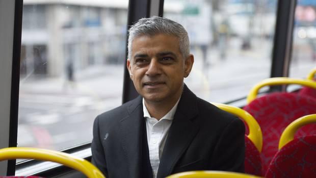 伦敦市长萨迪克•汉