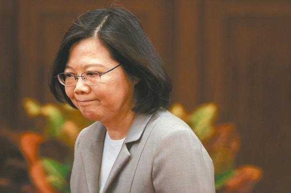 台湾地区领导人蔡英文。