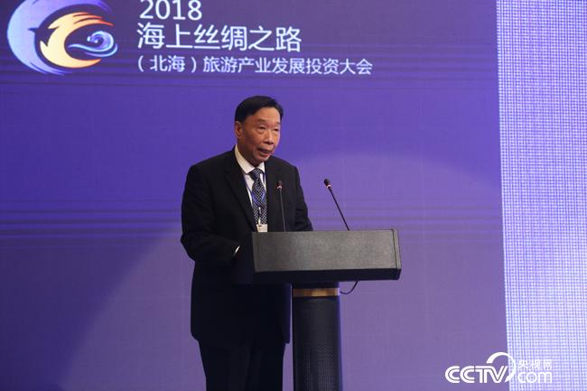 亚太旅游联合会会长何光晔在致辞。