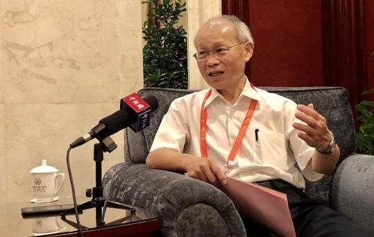 林政则接受中新网采访。