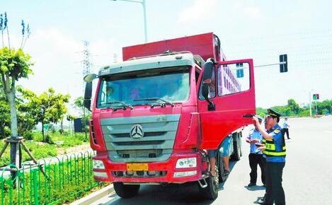 该货车超限了50多吨