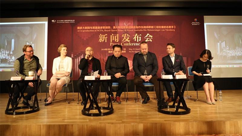 国家大剧院与英国皇家歌剧院、澳大利亚歌剧院联合制作歌剧《纽伦堡的名歌手》即将上演 王小京/摄