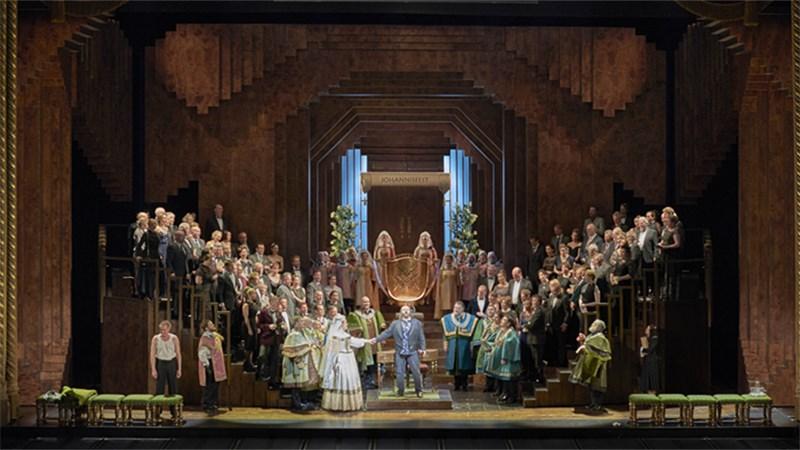 《纽伦堡的名歌手》是瓦格纳艺术风格全面进入成熟期时创作的歌剧作品