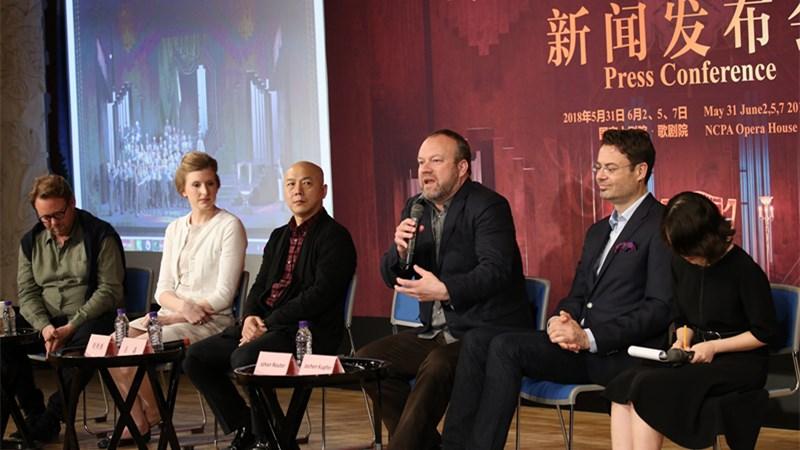 此次即将上演的《纽伦堡的名歌手》在演出时长、阵容规模、制作难度上都更具挑战 王小京/摄