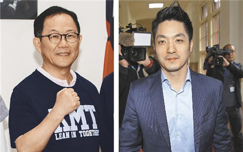丁守中(左)蒋万安(右)