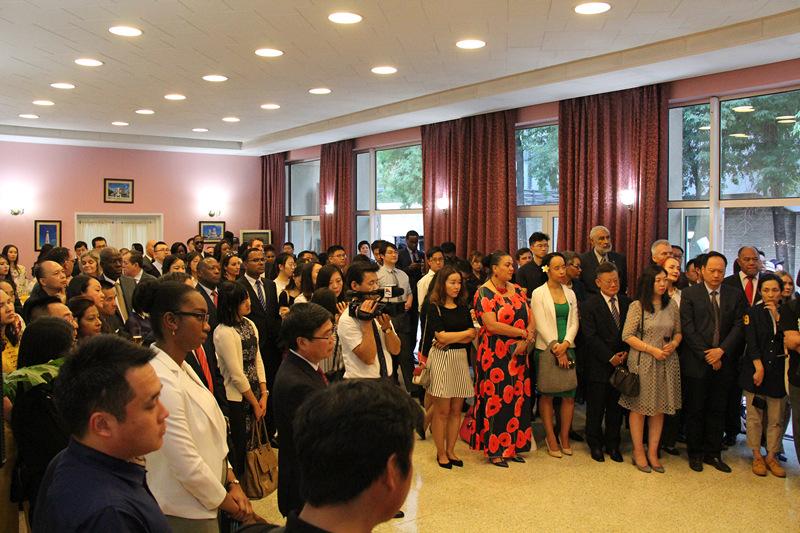 Guyana Embassy hosts independence day celebration in Beijing