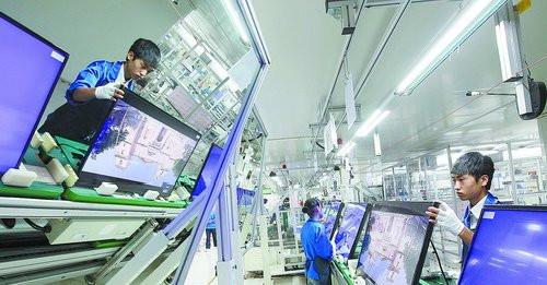 冠捷显示科技(厦门)有限公司,被视为在厦台企的一个排头兵。
