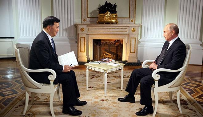 普京接受中央广播电视总台专访