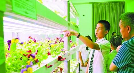 植物工厂展示现场