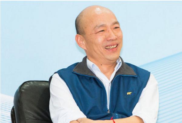 前北农总经理、国民党高雄市长参选人韩国瑜。