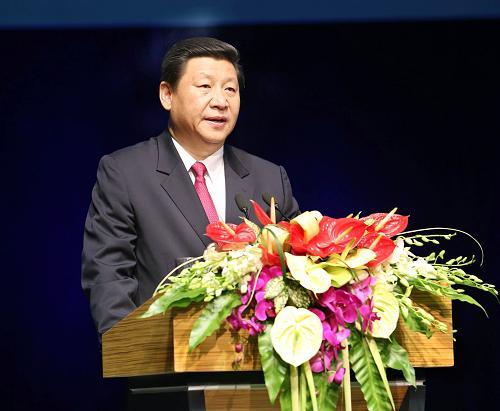 8月21日,国际天文学联合会第28届大会开幕式在北京国家会议中心开幕。习近平出席开幕式,并发表热情洋溢的致辞。
