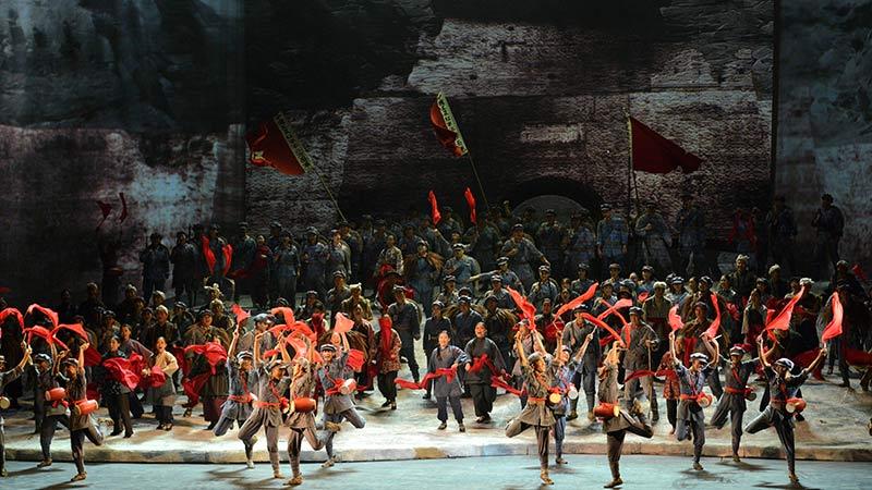 国家大剧院原创中国史诗歌剧《长征》将迎来在国家大剧院的第四轮演出