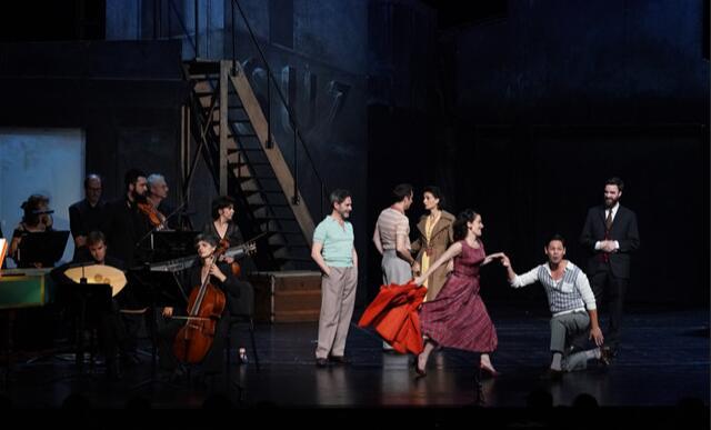 6月16日,法国巴黎北方剧团和繁盛古乐团共同带来芭蕾喜剧《德·浦尔叟雅克先生》 王小京/摄