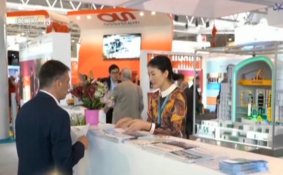法国第三届天下核产业展览会 中国国度展团表态展览会