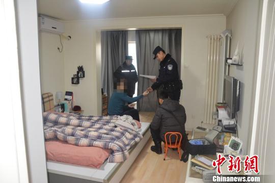 警方抓获嫌犯。 警方供图