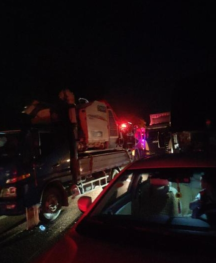 京港澳高速湖南衡阳段 发生重大交通事故已致