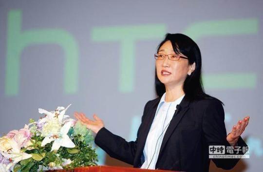 台湾宏达电(HTC)董事长王雪红