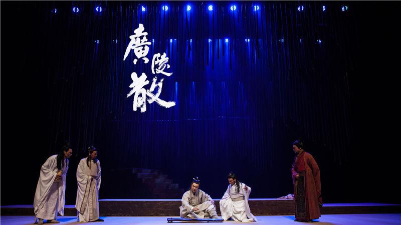 话剧《广陵散》中所有的角色均由戏曲演员担任
