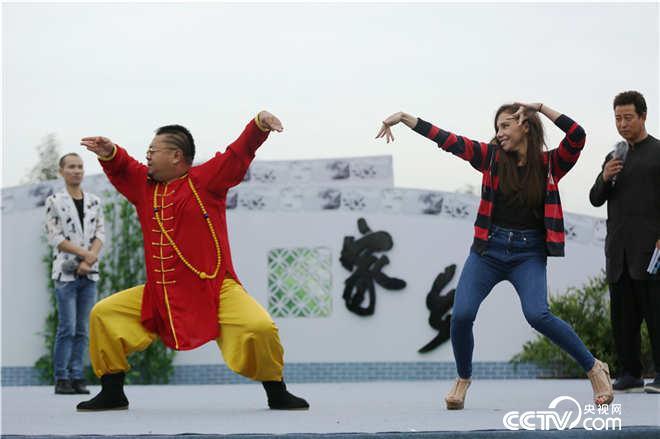 """""""半吨舞王""""王迪跳舞跳嗨了,把俄罗斯姑娘唐诗诗也带得热舞不停?"""