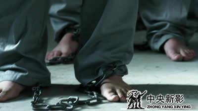 平房基地中关押的被实验者