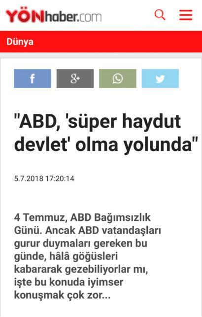 土耳其方向电台网站2018年7月5日转发