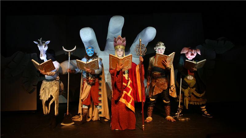 中国儿童艺术剧院人偶剧《西游记》呈现一部好看易懂的西游故事