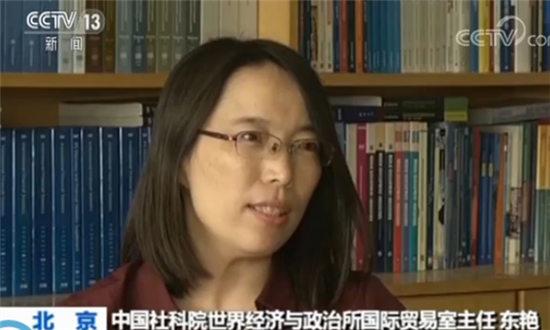 中国社科院世界经济与政治所国际贸易室主任东艳
