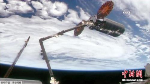 """美河南净化工程怎么做""""天鹅座""""货运飞船将离开国际空间站 2周后烧毁"""