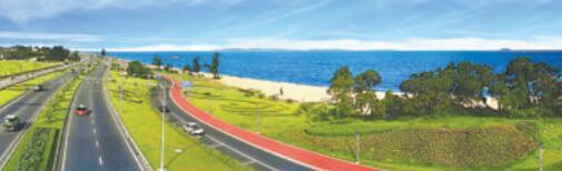 摄于2003年的环岛路景色。