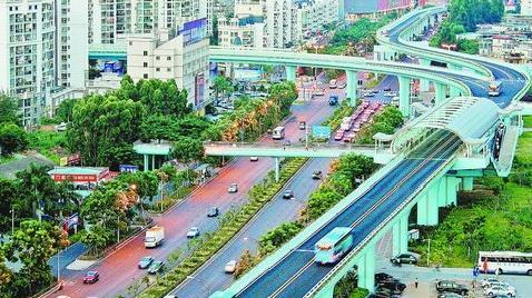 """如今,BRT成为""""厦门最受欢迎的公交线路"""""""