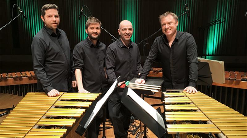 2018年8月24日于音乐厅举行的柯林·克里四重奏