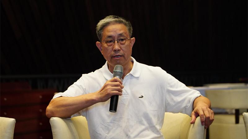 中国社会科学院文学研究所研究员、教授刘平 王小京/摄
