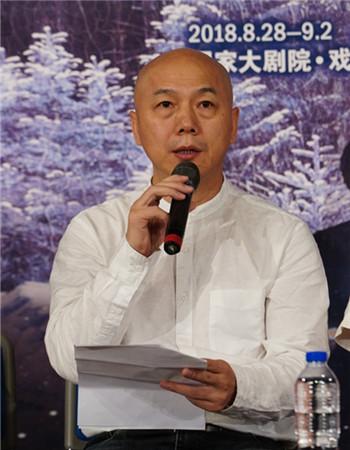 国家大剧院副院长赵铁春 王小京/摄