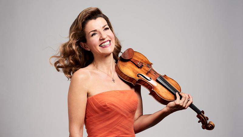 小提琴大师安妮-索菲·穆特
