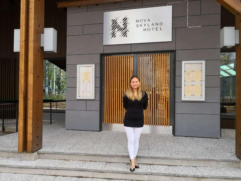 Mrs. Tian Zhang, CEO - Nova Skyland Hotel - Rovaniemi, Finland