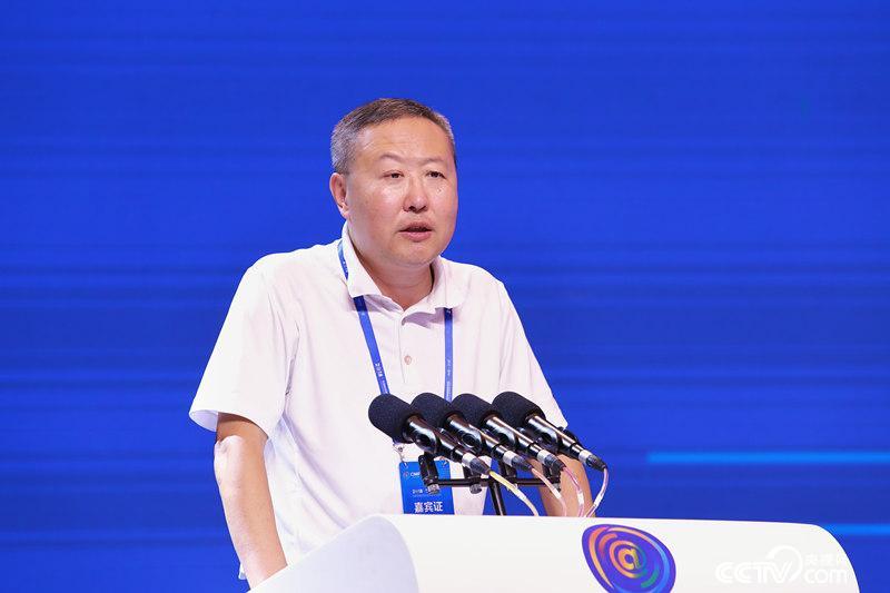 新华社新媒体中心主任陈凯星发表主题演讲