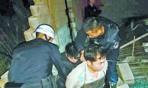 民警抓获非法屠宰生猪嫌疑人