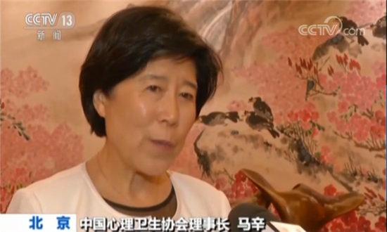 中国心理卫生协会理事长马辛