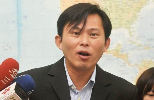 """""""时代力量立委""""黄国昌。(图片来源:台湾""""中时电子报"""")"""