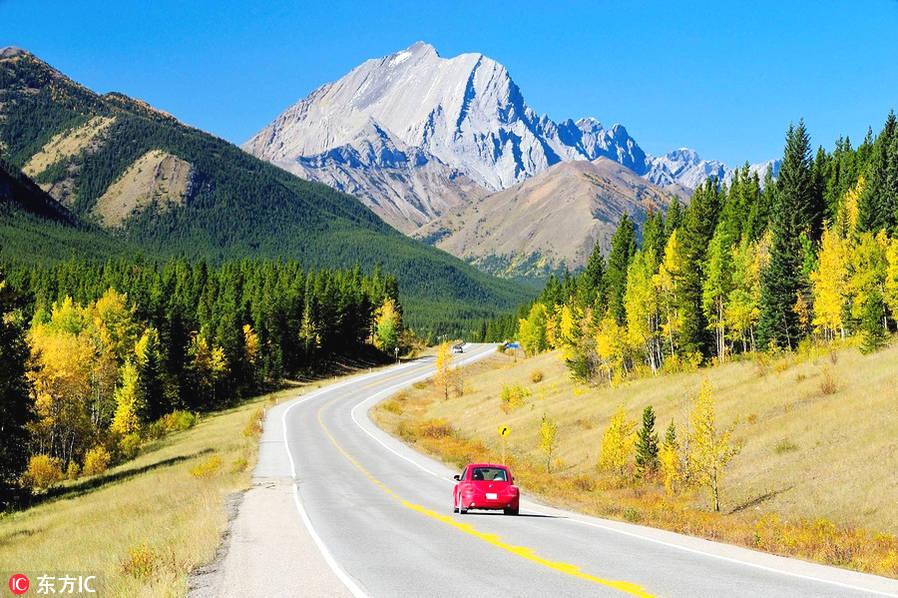 卡那那斯基村。小李子穿过白雪皑皑的宽阔山谷的镜头,就是在这里拍摄的。卡那那斯基斯是加拿大落基山东麓上一个由众多山地公园和小山拼接而成的村落。卡尔加里人把这里当做自己的游乐场,这片相对于省立公园来说,同样美得惊人。