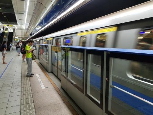 台北捷运。台湾《联合报》资料图