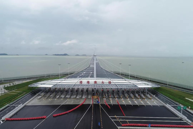 定了 港珠澳大桥24日正式通车