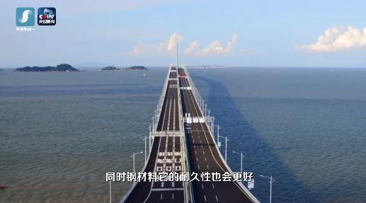 穿越港珠澳之說你不知道丨揭秘:42萬噸鋼材搭起
