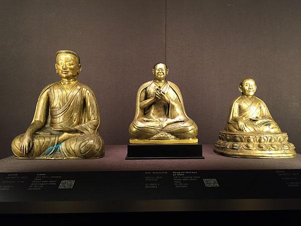 故宫博物院与止观美术馆佛教造像展