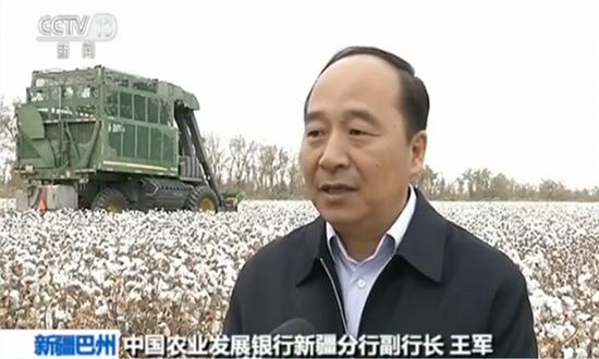 中国农业发展银行新疆分行副行长王军