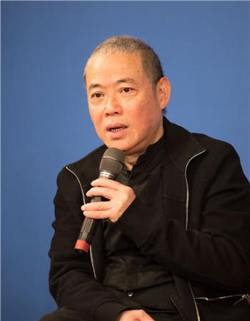 著名戏剧导演李六乙。高尚/摄
