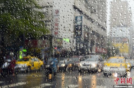 资料图:台湾大雨